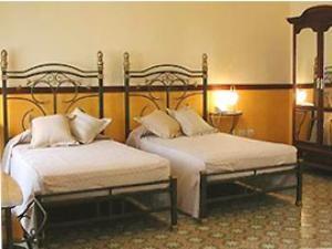 Zimmer im Kolonialhotel