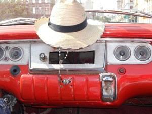 Oldtimer mit Hut