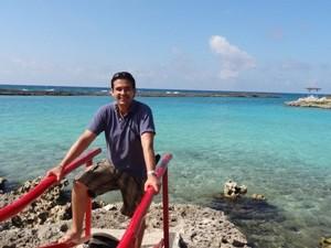 Türkisblaues Wasser vor Playa Larga