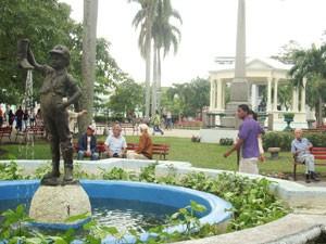 Zentraler Platz in Santa Clara auf Kuba