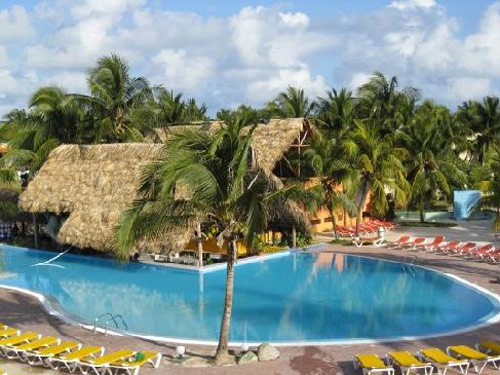 Hotelanlage in Santa Lucia