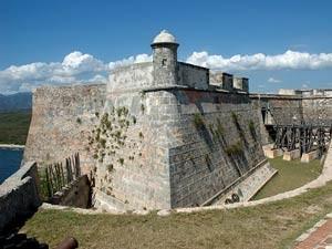 Castillo in Santiago de Cuba