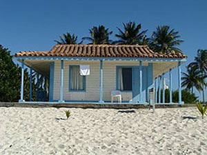 Strandbungalow in Maria la Gorda