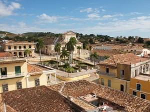 Zentraler Platz in Trinidad auf Kuba