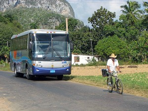 Bus in Vinales