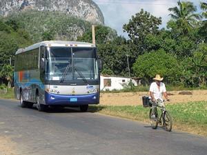 Bus in Vinales