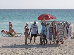 Strandverkäufer