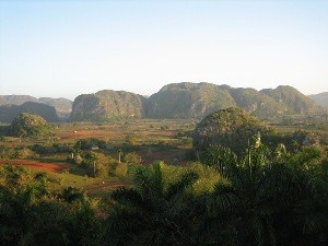 Landschaft in Viñales bei Westkuba Rundreise