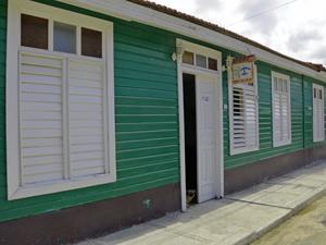 Eingang einer Casa in Baracoa