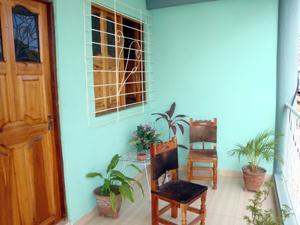Eingang einer Casa in Santiago de Cuba
