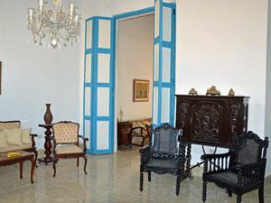 Eingang einer Casa in Havanna