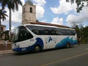 Kuba Busrundreise Viazul Linienbus