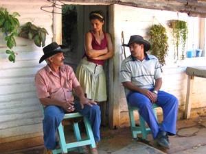 Bauern in Vinales