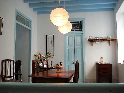 Gemütlicher Sitzbereich einer Casa in Havanna