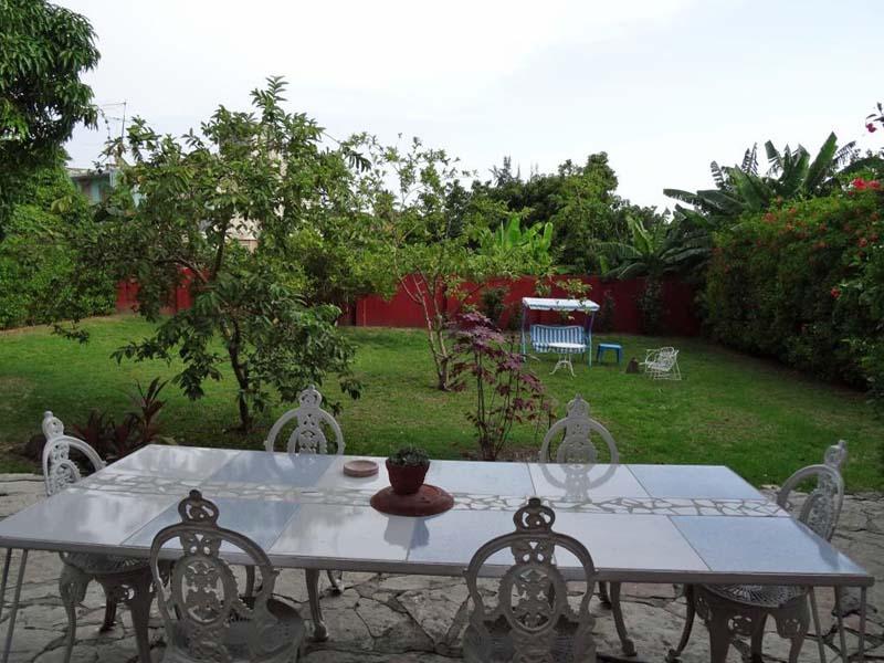 Garten einer Casa im Vorort von Santiago de Cuba