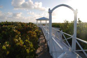 Holzbrücke auf Cayo Santa Maria