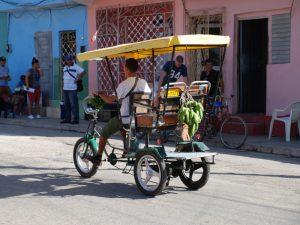 Kuba Mexiko Rundreise Bici-Taxi Trinidad