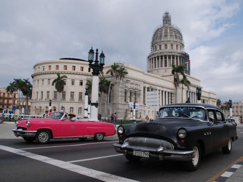 Kuba Mexiko Rundreise Havanna Capitol