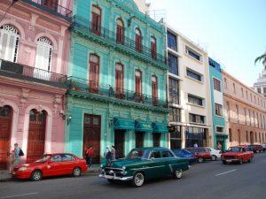 Kuba Mexiko Rundreise Straße in Havanna