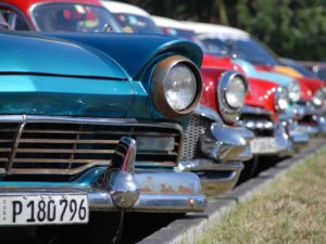 Kuba Mexiko Rundreise Oldtimer in Havanna