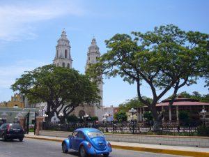 Campeche bei Kuba Mexiko Rundreise