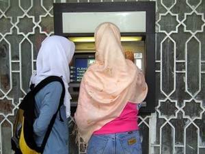 Geld abheben in Ägypten