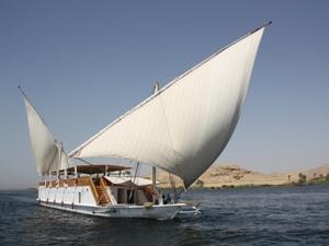 Ägypten Sehenswürdigkeiten - Nilkreuzfahrt mit einer Dahabeya