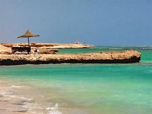 Das al Quseir Meer in Ägypten