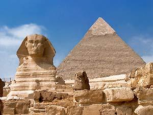 Gizeh Pyramiden und Sphinx in Ägypten