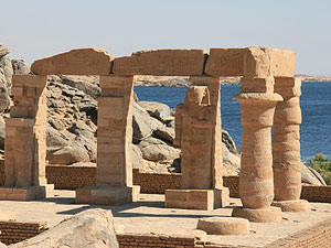 Ägypten Sehenswürdigkeiten - Kalabsha Säulen