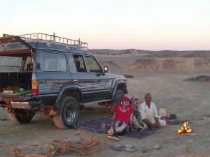 Verkehrsmittel Fahrer in Ägypten