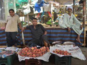 Landeskueche Markt in Ägypten
