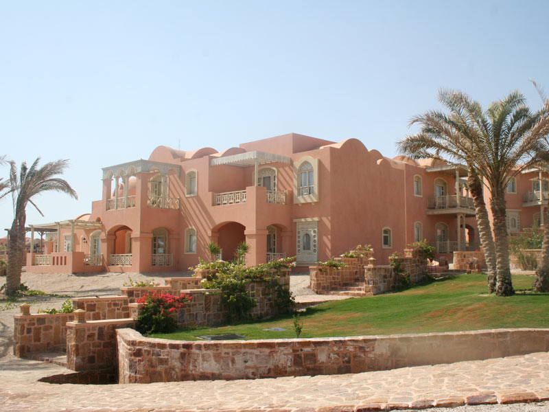 Resort am Quseir Strand in Ägypten
