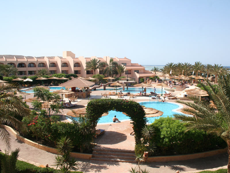 Resort und Strand in el Quseir