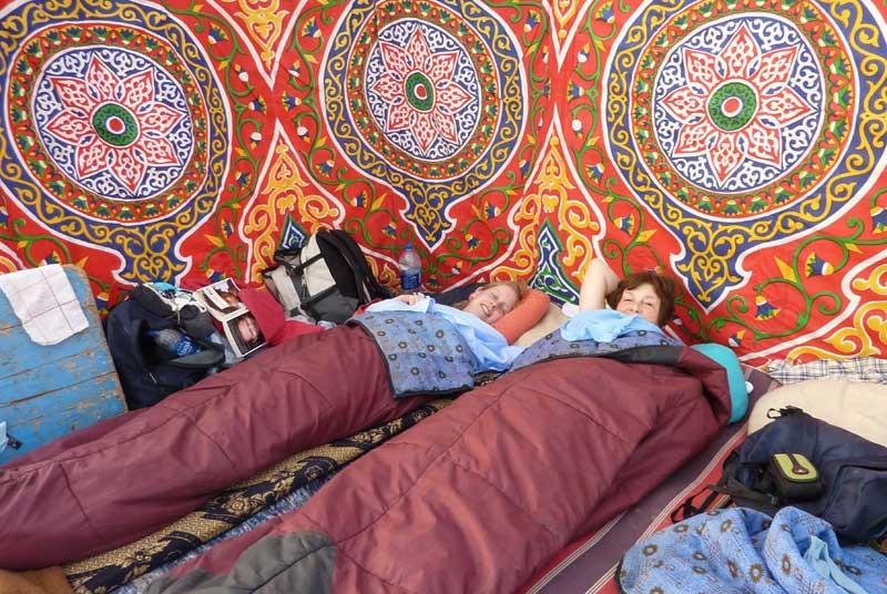Ihr persönliches Camp in der Weißen Wüste