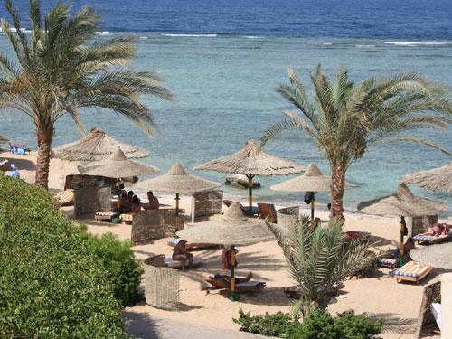 Strand und Unterkunft in el Quseir