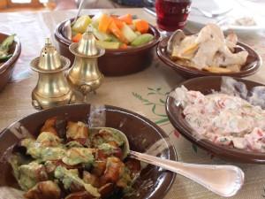 landeskueche reisen köstlichen Mezze