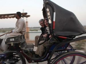Verkehrsmittel Mit der Kutsche unterwegs