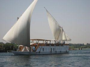 Zeitunterschied Segeln auf dem Nil