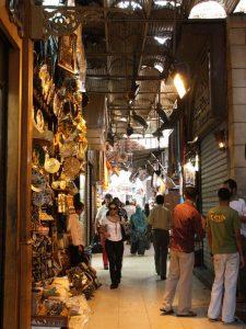 Im Khan El Khalili Bazar - Rundreise Ägypten