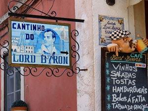 Mittagsangebot in einer portugiesischen Bar