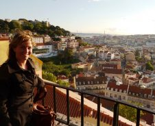 Seefahrer-Kompassroute durch Lissabon
