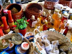 landestypische Gewürze und Speisen