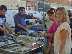 größter Fischmarkt in Portugal an der Algarve