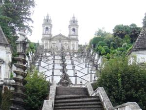 Die Kirche Bom Jesus in Braga