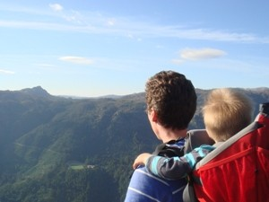 Wanderung mit Kind