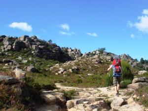 Wandern im Nationalpark von Peneda Gerês -Nordportugal