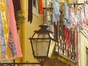Alfama Stadtteil Lissabon Portugal