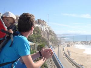 entspanntes Ende der Reise durch Portugal