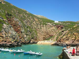 Ilha Berlenga vor der Portugal Atlantikküste